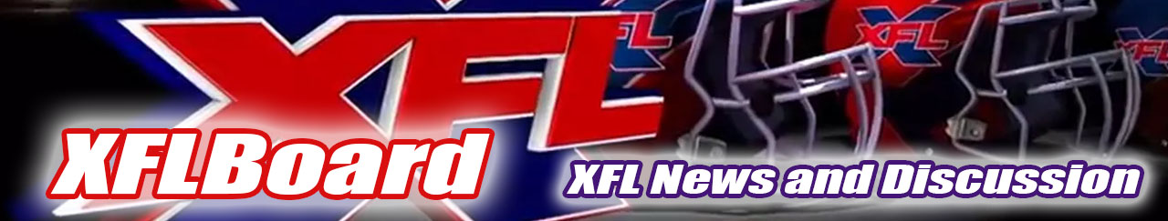 XFL News and Discussion - XFLBoard.com