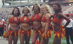 the orlando rage cheerleaders