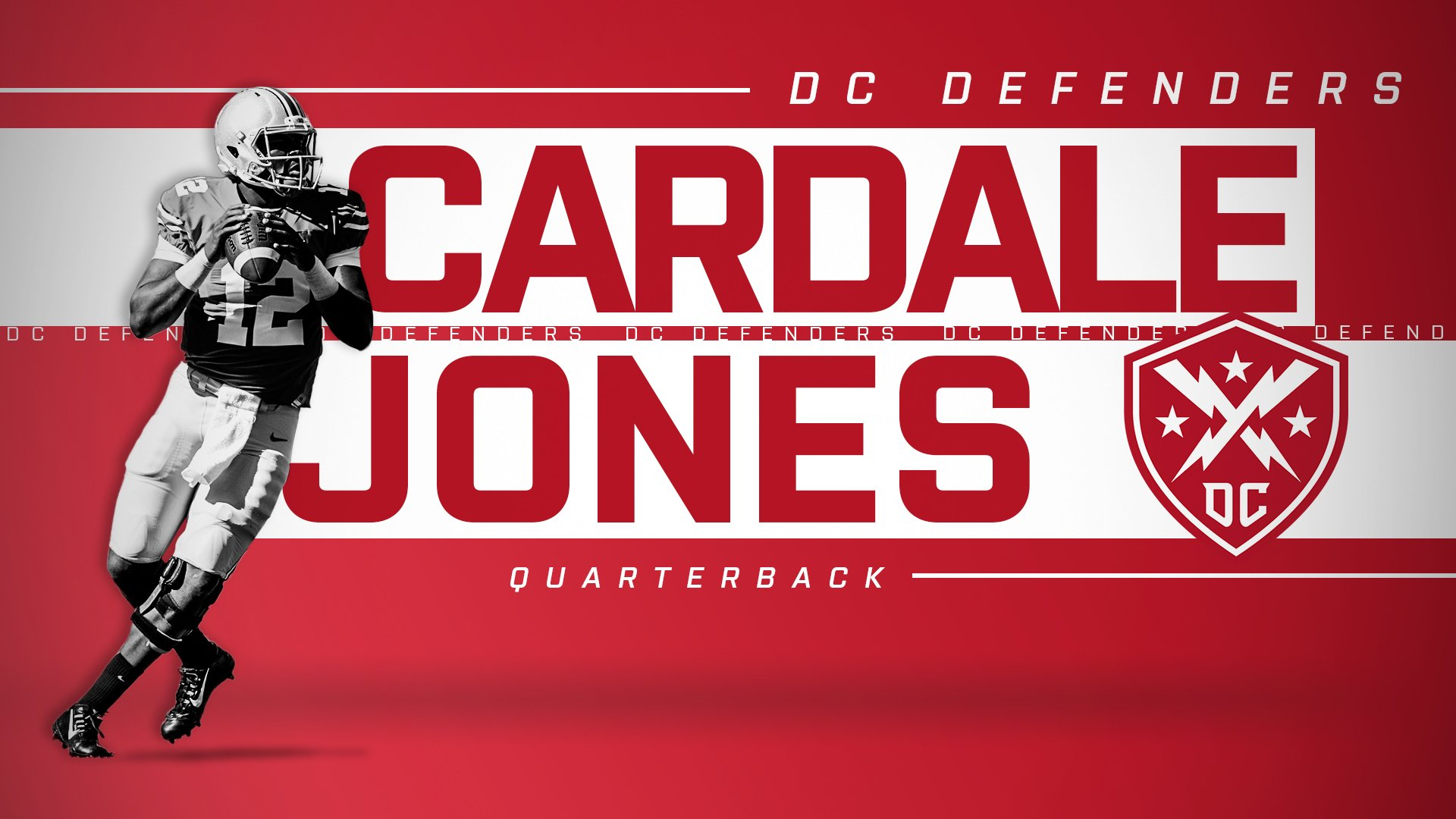Cardell Jones Drafted to the DC Defenders