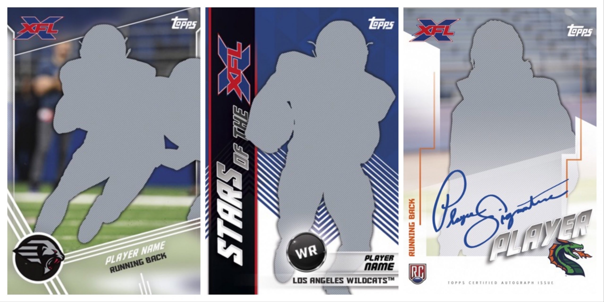 Topps XFL 2020 Trading Cards
