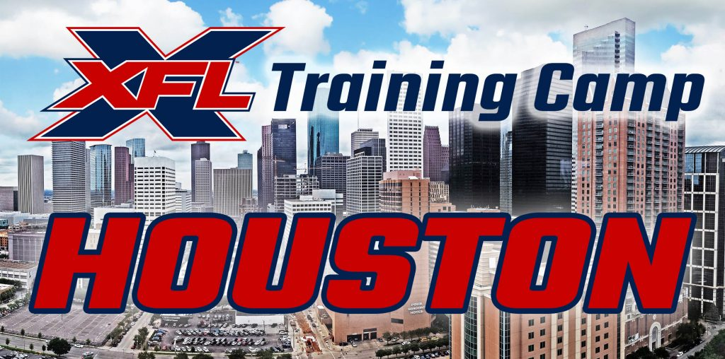 XFL Training Camp Houston