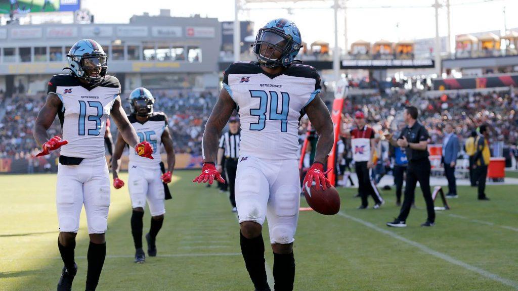 XFL Dallas Renegades running back Cameron Artis-Payne.