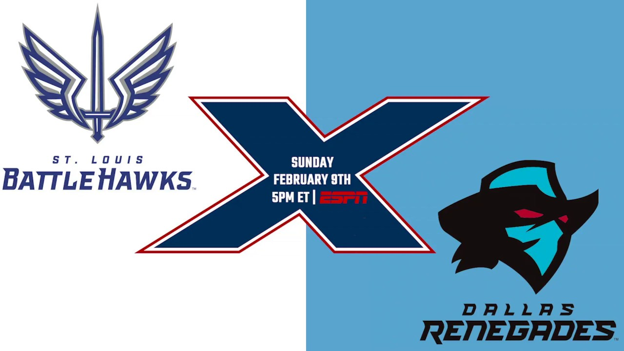 St. Louis BattleHawks vs. Dallas Renegades