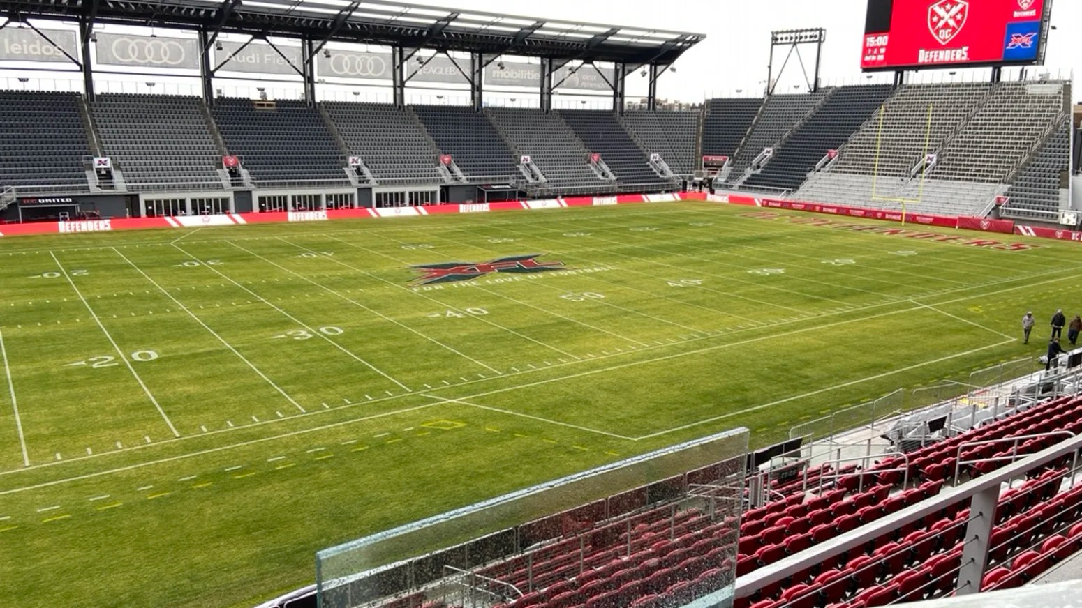 Audi Field in Washington, DC is ready for some ffootball!