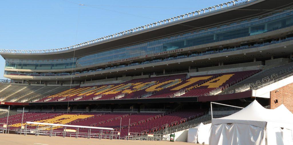 TCF Bank Stadium, University of Minnesota, Minneapolis, Minnesota