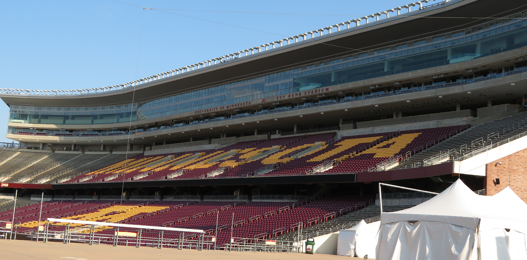 TCF Bank Stadium, University of Minnesota, Minneapolis, Minnesota