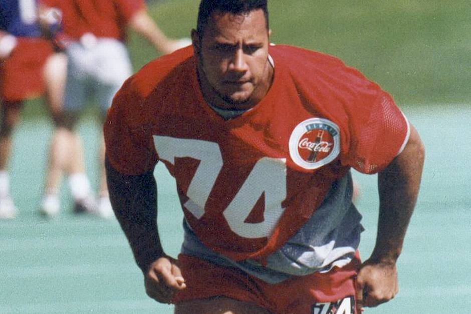 """After a short stint with the CFL, Dwayne """"The Rock"""" Johnson's pro football dreams remained unfulfilled."""