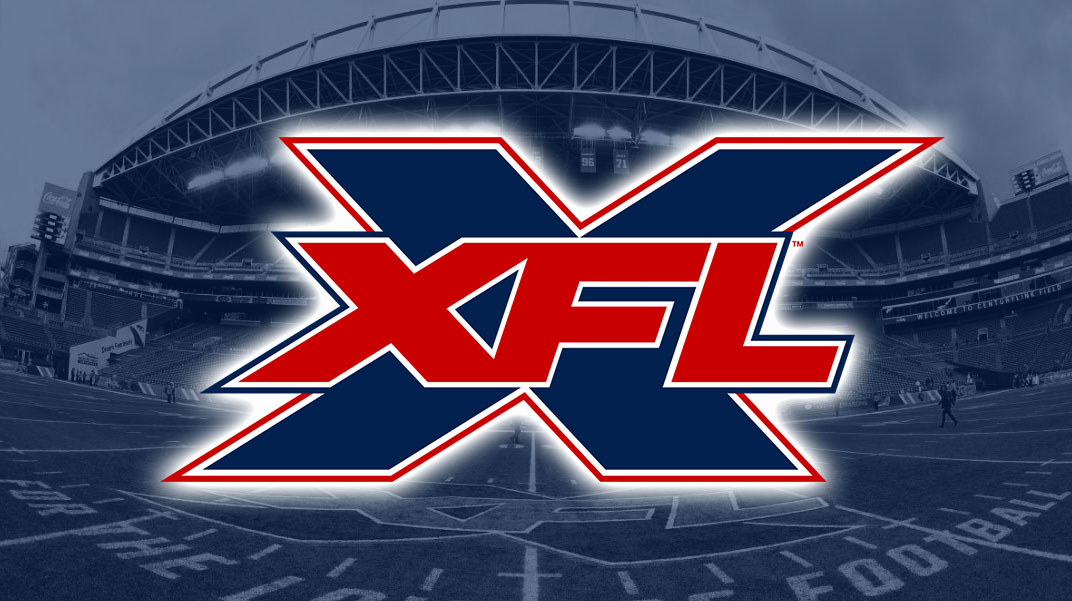 XFL Stadium with logo
