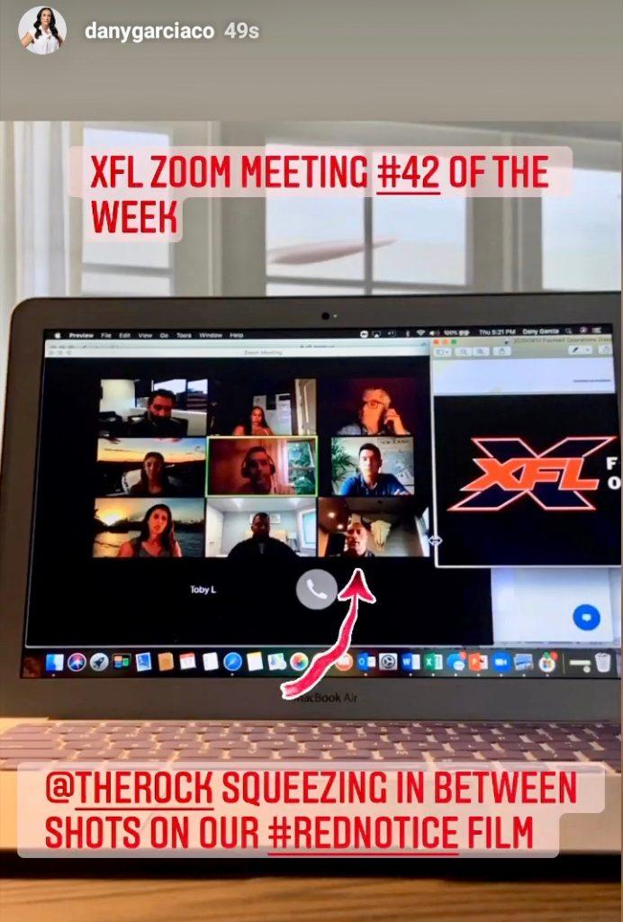 #XFL Zoom Meeting #42 Of The Week