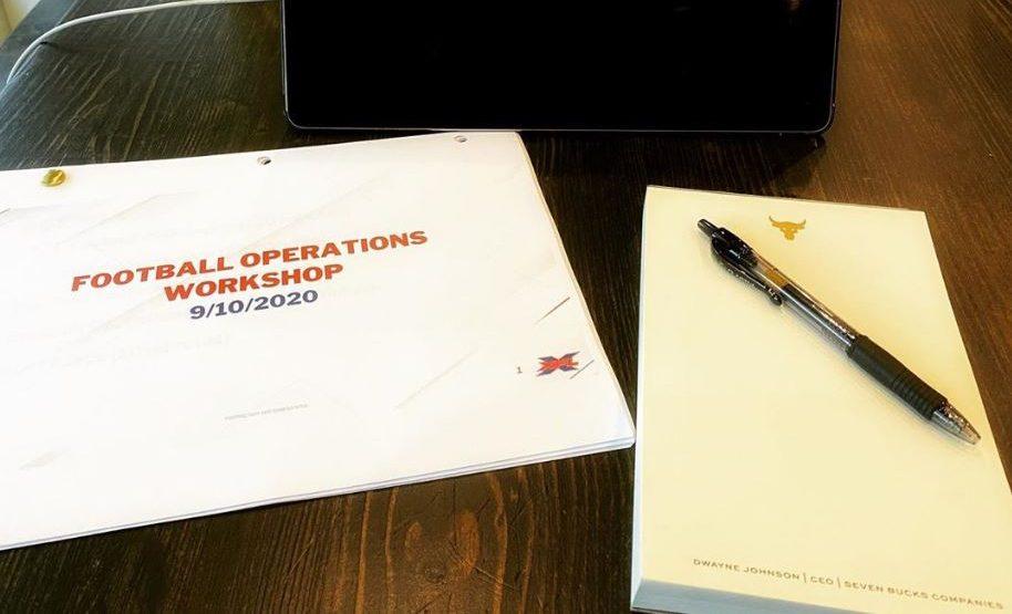 Football Operations Workshop 9-10-2020