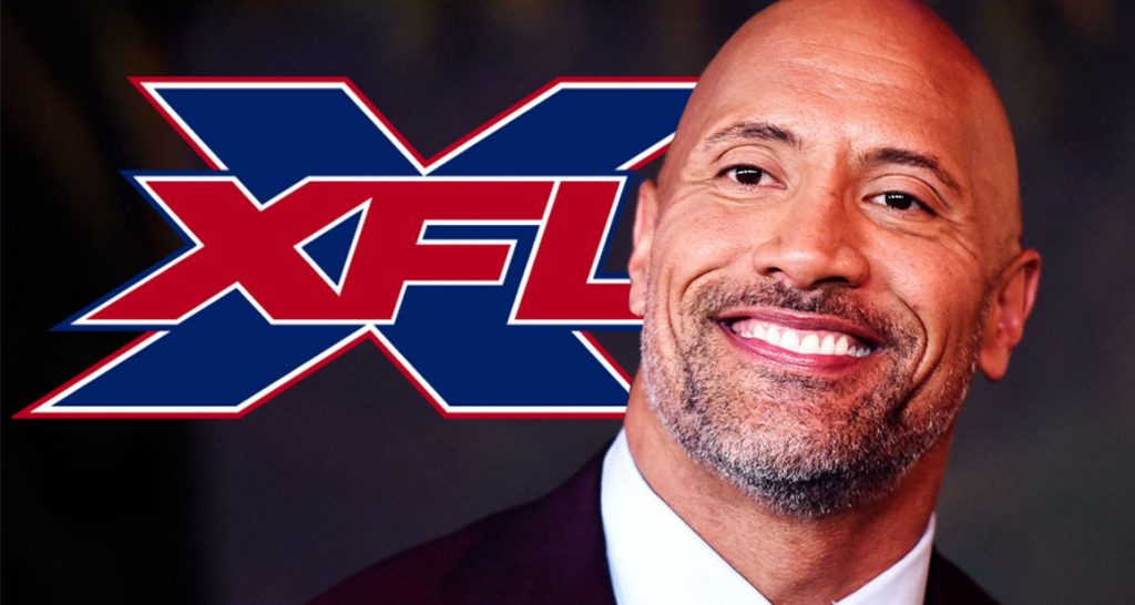 "XFL Owner Dwayne ""The Rock"" Johnson"