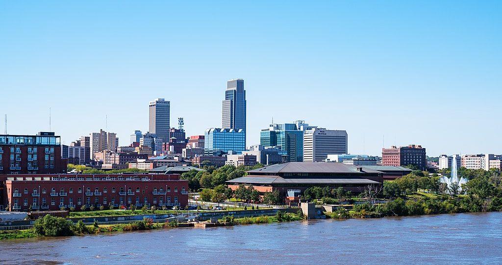 Omaha, Nebraska skyline.