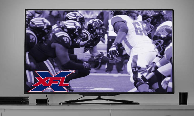 XFL on TV
