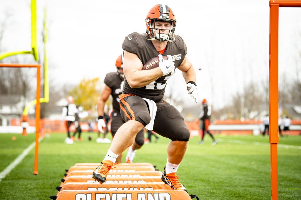 Johnny Stanton Cleveland Browns Fullback #43
