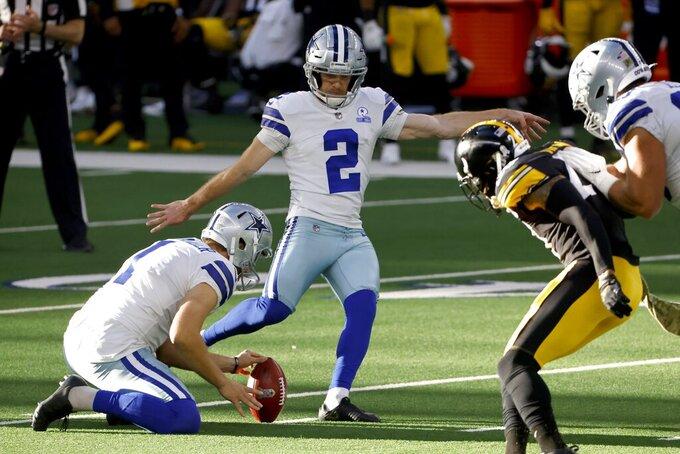 Dallas Cowboys' Hunter Niswander