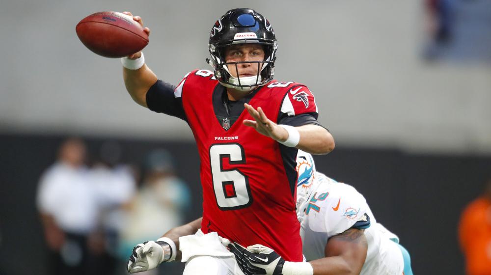 Kurt Benkert, Atlanta Falcons.
