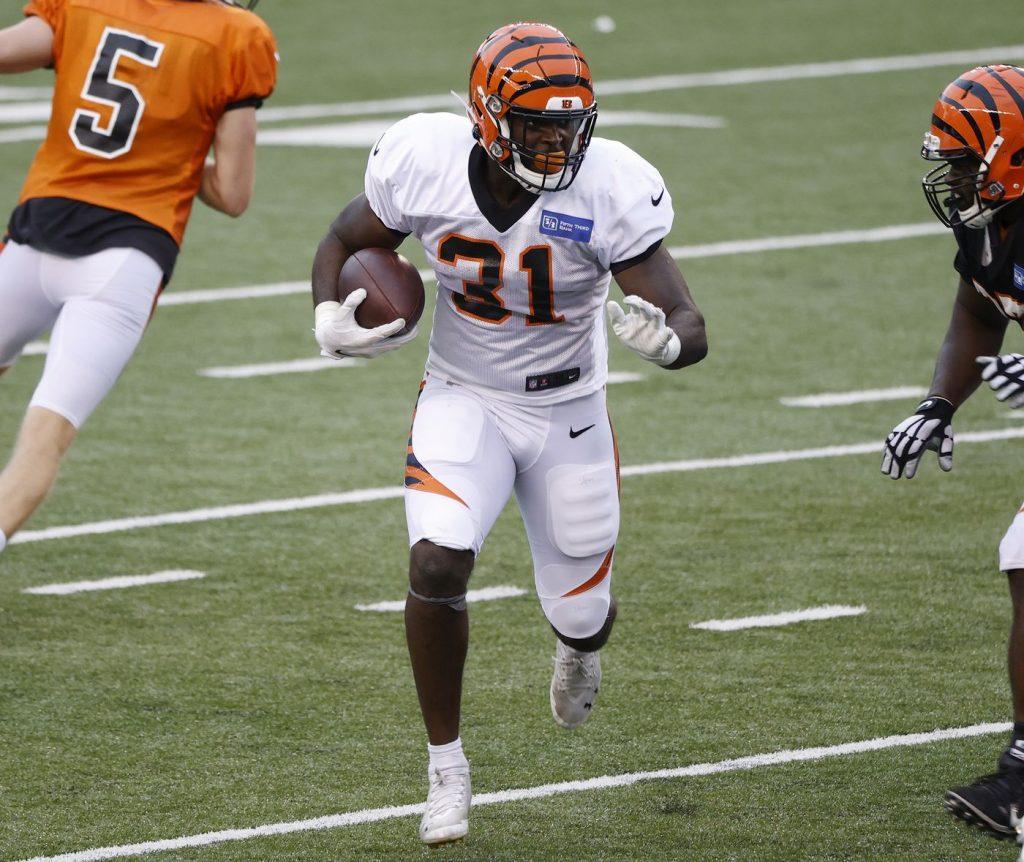 RB Jacques Patrick, Cincinnati Bengals