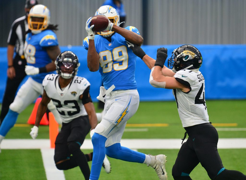TE Donald Parham - Los Angeles Chargers