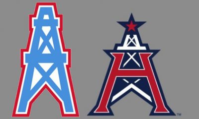 Houston Oilers and Roughnecks logos