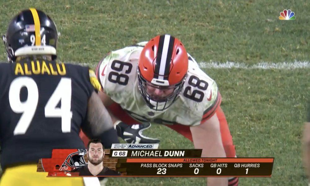 Michael Dunn, Cleveland Browns.