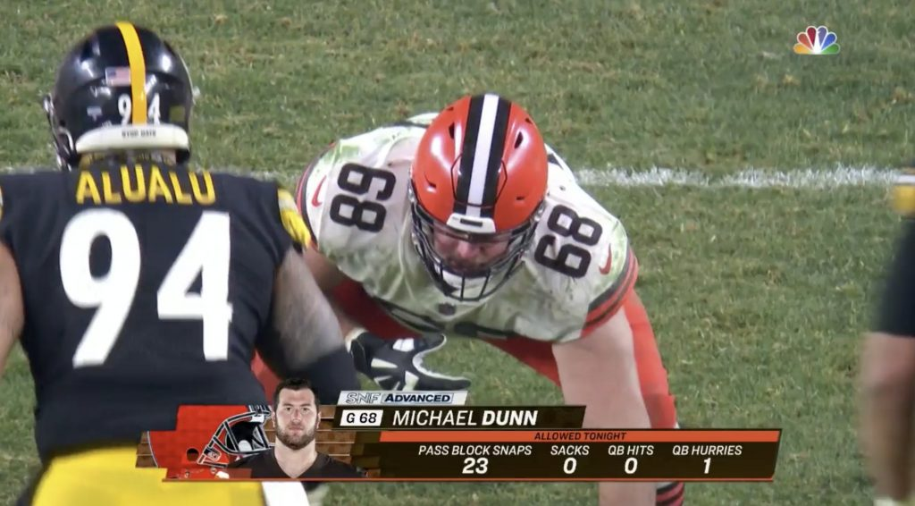 Michael Dunn, Cleveland Browns