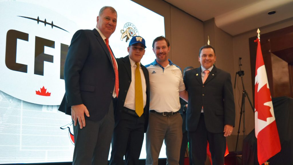 A day after scouting Mexico's top football talent, Canadian Football League teams made their selections at the draft on Monday in Mexico City.